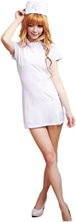 HÖTER Sale Women's Naughty White Pink Nurse Dress Sweet Party Cosplay Costume Set/Sexy Lingerie