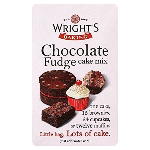 Wright's Store Chocolate Fudge Cake OFFicial shop Mix - 500g 1.1lbs