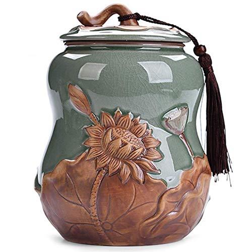 ZYHJAMA Urn Ashes Cendres de crémation pour Adultes cuves funéraires en céramique Confortables et élégantes pour commémorer Votre Peuple préféré