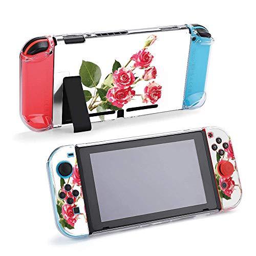 Carcasa protectora para consola y Joy-Con con protector de pantalla, agarre para pulgar Design23377