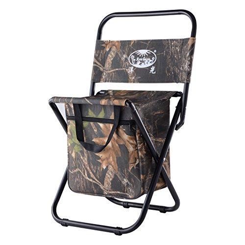 Silla de mochila Camping plegable con soporte de taza es ligero, asiento al aire libre portátil de hasta 200 kg pesado, muy adecuado para la playa de pesca en el jardín de camping al aire libre