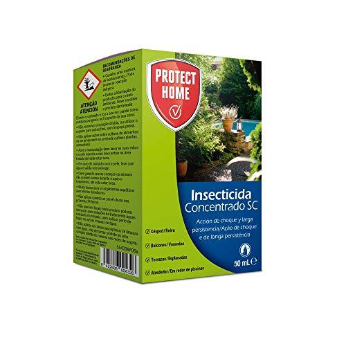 Insecticida concentrado para el control de insectos en exteriores, acción de choque y larga persistencia