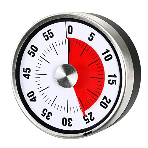 AIMILAR Magnetic Mechanical Kitchen Timer - 60...