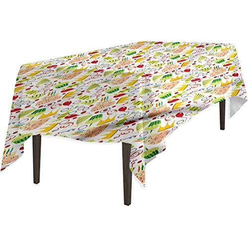 Aishare Store - Mantel impermeable para fiestas de cumpleaños, 152,4 x 264,2 cm