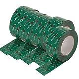 Förch - Cinta adhesiva (25 lfm, para barreras de vapor, para sistemas, OSB), color verde...