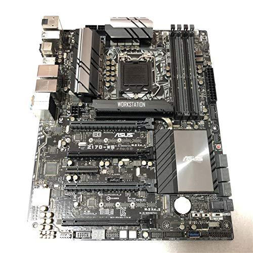 ZHEBEI Z170-WS gráficos trabajo placa base memoria DDR4 servidor de un solo canal SLI crossfire 4 canales