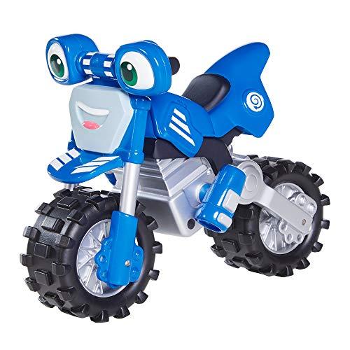 Ricky Zoom Super Rev Loop, Großes 17,8 cm Spielzeugmotorrad mit Frei Rollenden Rädern für das Spielen im Vorschulalter, Freistehendes Kindermotorradspielzeug für Jungen und Mädchen ab 3 Jahren