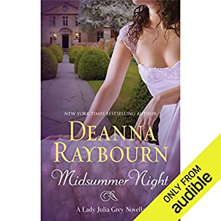 Midsummer Night                   Written by:                                                                                                                                 Deanna Raybourn                               Narrated by:                                                                                                                                 Ellen Archer                      Length: 2 hrs and 15 mins     4 ratings     Overall 4.5