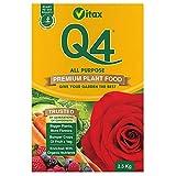 Vitax vegetali Q4 fertilizzanti, 2,5 kg