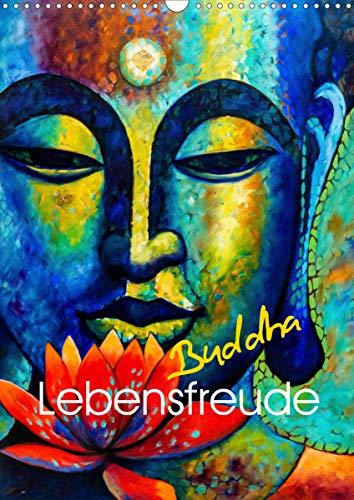 Lebensfreude Buddha (Wandkalender 2021 DIN A3 hoch)