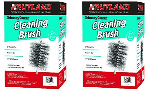 Learn More About Rutland Products 16407 7 Round Chimney Cleaning Brush (Two Pack)