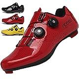 KUXUAN Calzado de Ciclismo Hombre Mujer con Bloqueo Zapatos...