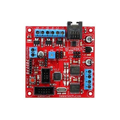 Tongdaur Contrôleur d'extrudeur 2.2 Imprimante 3D Module de Contrôle Carte Carte Carte Carte Mère 3D Accessoires Imprimante