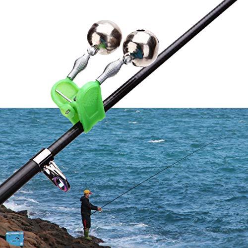 Multifunktions Praktische Angeln Alarmlampen 10pcs / Set Angeln Alarmlichter Doppel Nacht Sea Fish Rod Clip TIPP Bait AlarmBell Nacht Angelzubehör Baoaiyiyuanguanli