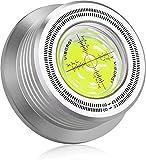 Viborg Schallplattenklemme Plattenklemme Plattenspieler aus Aluminium 60HZ 628S LP Disc Stabilizer 3-in-1 Drehscheibe für Vibrationen ausgeglichen Schallplattenauflagegewicht