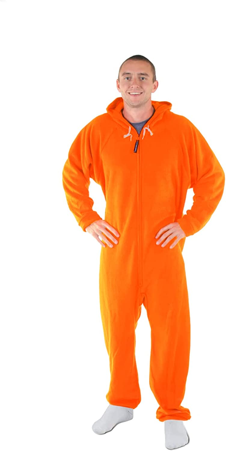 Forever Lazy Max 47% OFF Non-footed Adult Pajama Columbus Mall One-Piece Onesies Jumpsuit