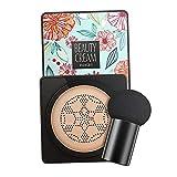milageto BB Cream CC Cream, Base de Maquillaje de Larga duración BB Cream Spots Cover Liquid Concealer, Hidratante Permeable al Aire Brillo - Color Natural