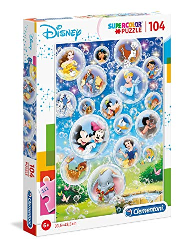 Clementoni Supercolor Puzzle-Disney classic-104Unidades
