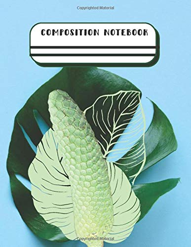 Monstera Plant Notebook Tropical Monstera Deliciosa Fruit Gardening Lover: Lined Composition Notebook Journal