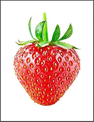 【FOX REPUBLIC】【苺 いちご】 白マット紙(フレーム無し)A4サイズ