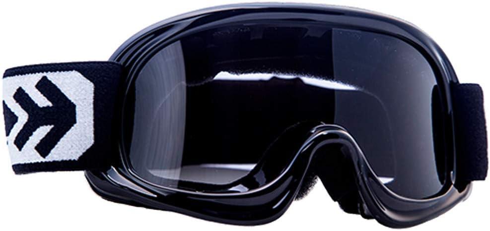 ARMOR Helmets AG-49 Gafas Cross Moto, Ninos, Negro