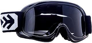 "Armor · AG-49 ""Black"" (black) · Gafas Cross · Enduro Kids Moto Moto-Cross motocicleta NINOS MX · (Black / Silver / Clear)"