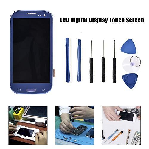 Boastvi Schermo LCD Touchscreen di ricambio per Galaxy S3 I9300 I9305, colore blu zaffiro, con kit di smontaggio