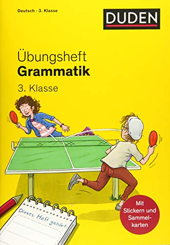 Übungsheft - Grammatik 3.Klasse (Übungshefte Grundschule)