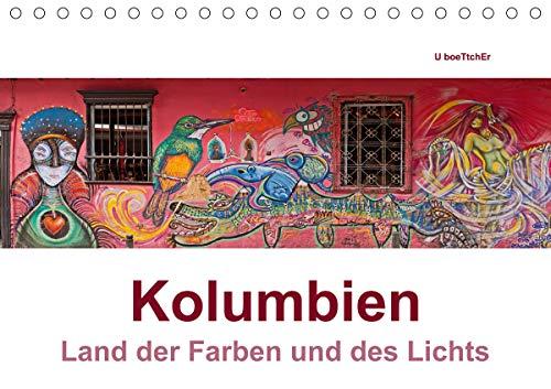 Kolumbien - Land der Farben und des Lichts (Tischkalender 2021 DIN A5 quer)