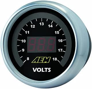 AEM 30-4400 8-18V Voltmeter Gauge
