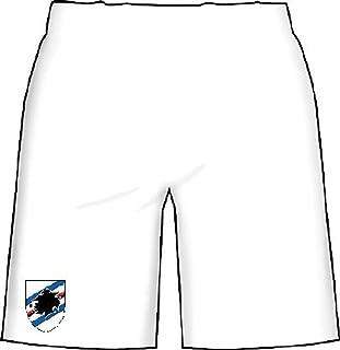 Joma Primo Pantaloncino Sampdoria 2019-20 Bianco Licenza Ufficiale Pantaloncini