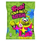 Trolli, Sour Brite Sloths Gummy Candy, 4.25 Oz (Pack Of 2)