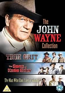 John Wayne: Prawdziwe męstwo / Synowie Katie Elder / Człowiek, który zabił Liberty Valance'a Kolekcja English audio. English subtitles
