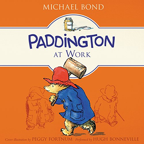 Paddington at Work audiobook cover art