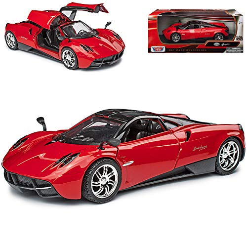 Motormax Pagani Huayra Coupe Rosso 1/24 Modello Auto
