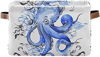 DOSHINE - Panier de rangement pliable en forme de pieuvre - Avec poignées - Grand cube de rangement - Panier à linge pour ...