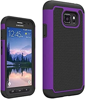 Galaxy S7 Active Case, VPR [Shock Absorption] [Drop Protection] Armor Hybrid Dual Layer Defender Protective Rugged Slim Hard Case For Samsung Galaxy S VII Active AT&T SM-G890 G891 (Purple)