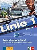 Linie 1 Schweiz A1.1: Deutsch in Alltag und Beruf mit Schweizer Sprachgebrauch und Landeskunde. Kurs- und Übungsbuch mit DVD-ROM (Linie 1 Schweiz: ... mit Schweizer Sprachgebrauch und Landeskunde)