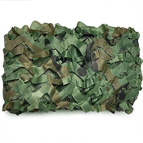 Filet de Camouflage,Sun Shelter, la lumière du Soleil et Le Blocage UV, Décoration/Photographie/Chasse/Jardin/terrasse, Écran privé, perméable à l'air,6mx9m(19.7 * 30ft)