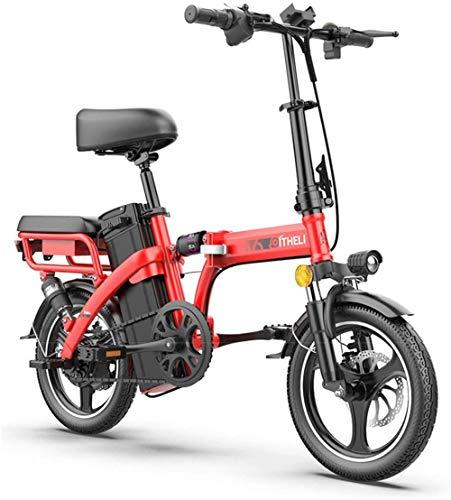 Bciclette Elettriche, Folding display LED bici elettrica Commute Bicicletta elettrica E-Bike 350W a motore a tre modalità di guida portatile facile da memorizzare, for la corsa Città Commuting Outdoor