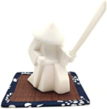 Worth Having - Samurai Incense Holder White Porcelain Incense Stand Desktop Ornament Gifts