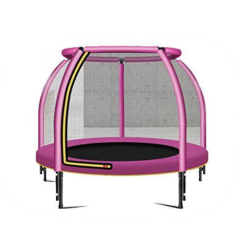 MXXQQ Trampolín Deportivo de 48 Pulgadas, trampolín Deportivo de Entretenimiento para niños, con Red de Seguridad, trampolín Deportivo de 250 kg, Aptitud para Saltar para Uso doméstico