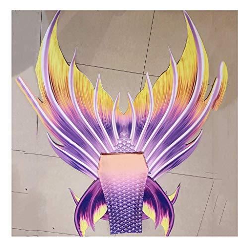 Traje De Bano Sirena Conjunto con Cola De Sirena para Niñas con Bikini para Niños/Adultos/Hombres/Mujeres/Natación/Fotografía Cola De Sirena Traje De Bano Princesa(Color:Color 5)