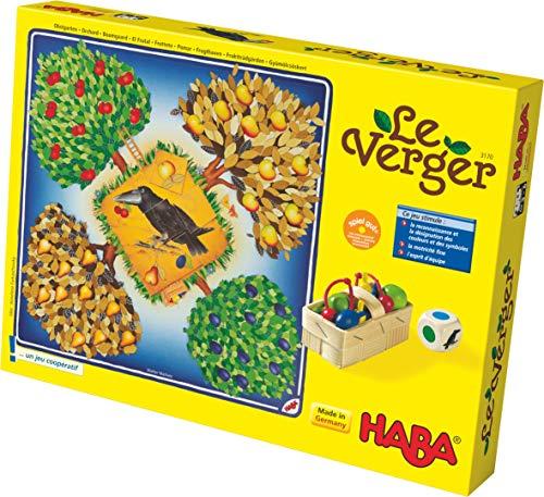 HABA-Le Verger Cooperativ-Juego de Mesa (3 años y más), 3170