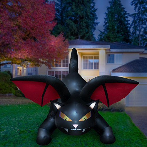 Black Cat Best Halloween Inflatable Yard Decorations