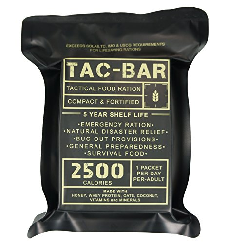 Tac-Bar Ready to Eat Survival Rations