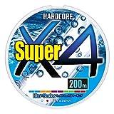 DUEL (デュエル) PEライン 釣り糸 HARDCORE スーパー X4 【 ライン 釣りライン 釣具 高強度 高感度 】 0.6号 200m 5色 H4304-5C
