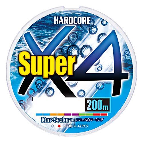デュエル(DUEL) PEライン ハードコア スーパー X4 200m 2.0号 5色 H4309-5C