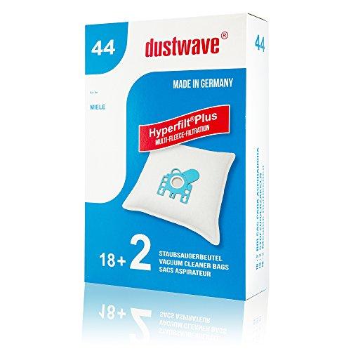 Megapack - 20 stofzuigerzakken geschikt voor Blink - 01.12.12 stofzuiger - dustwave® merkstofzak/Made in Germany incl. microfilter