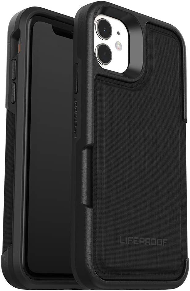 LifeProof FLIP SERIES Wallet Case for iPhone 11 - DARK NIGHT (BLACK/CASTLEROCK)